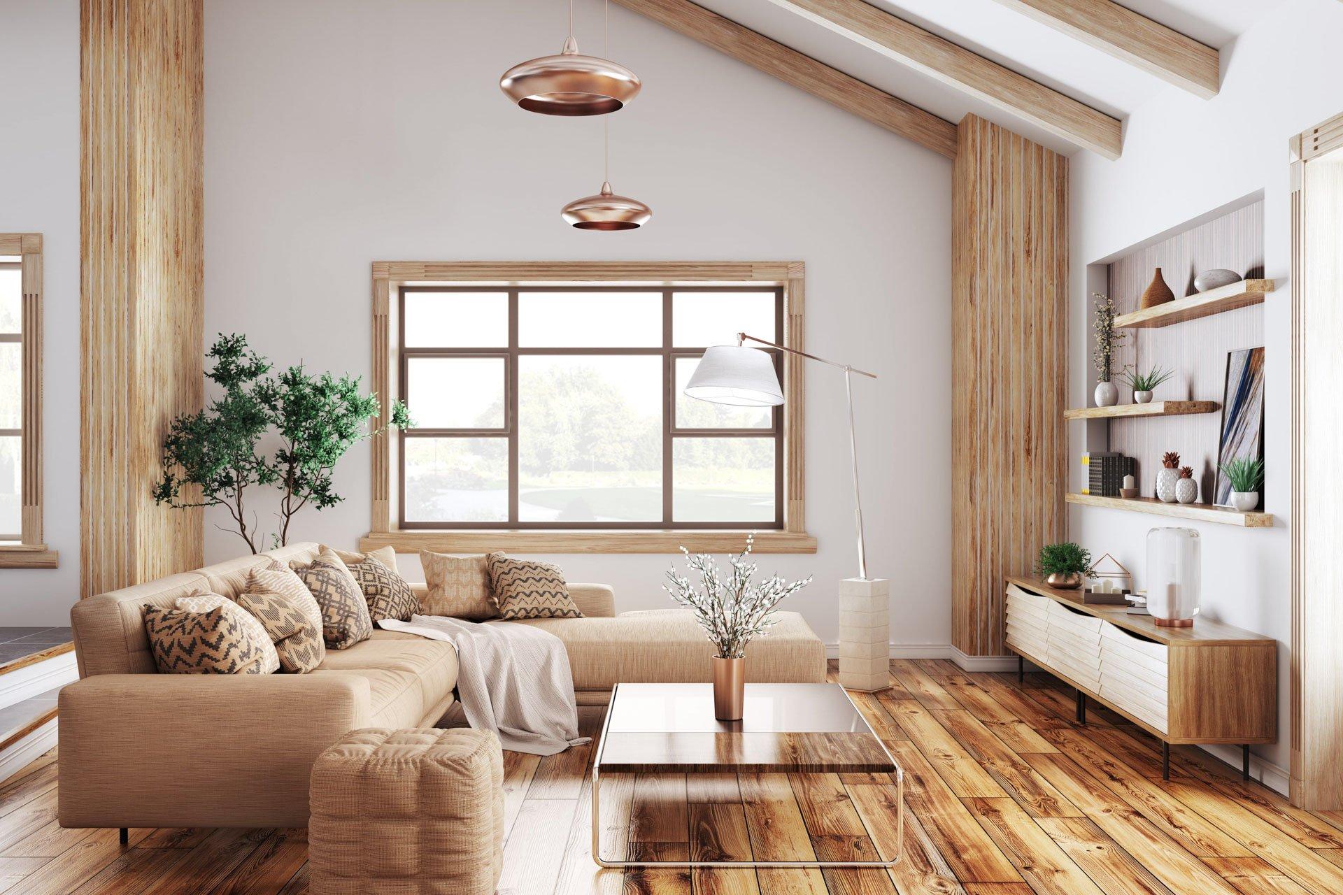 luxury wood floors and reclaimed furniture in Hesperus, La Plata